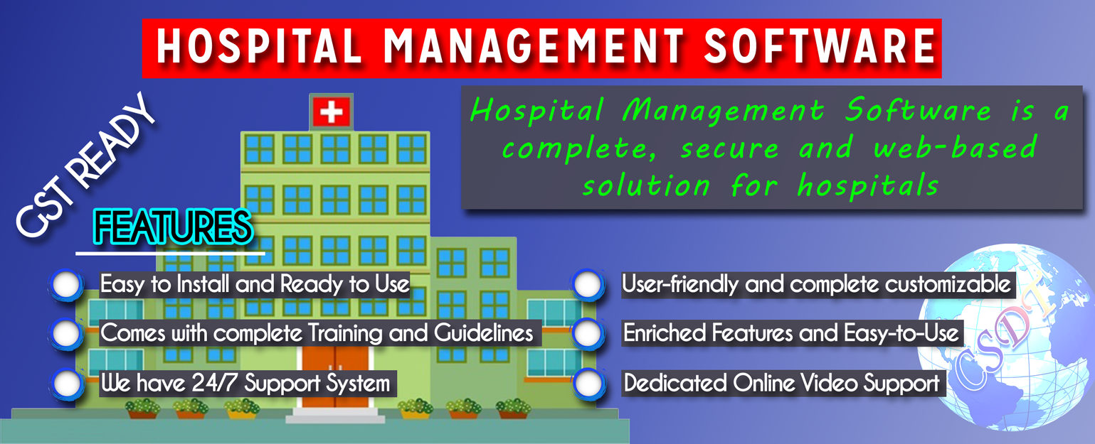 Hospital management Software providing Company in Patna bihar