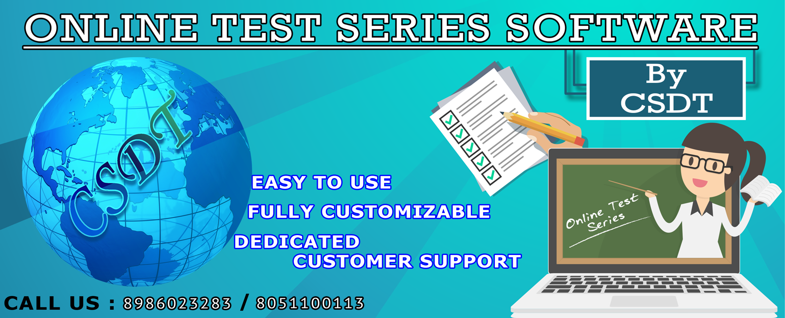 Test Series Software providing company in patna